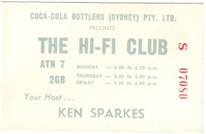 Hi-Fi Club Ticket