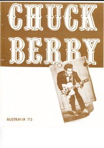 Chuck Berry tour prog cover