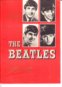 The beatles programme cover