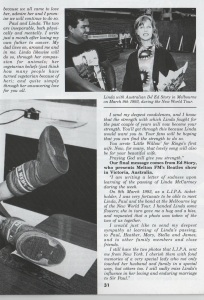 linda article in Beatles Book1998