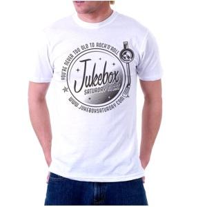 Jukebox Saturday Night White T-Shirt