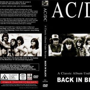 ACDC Back In Black A Classic Album Under Review Cover