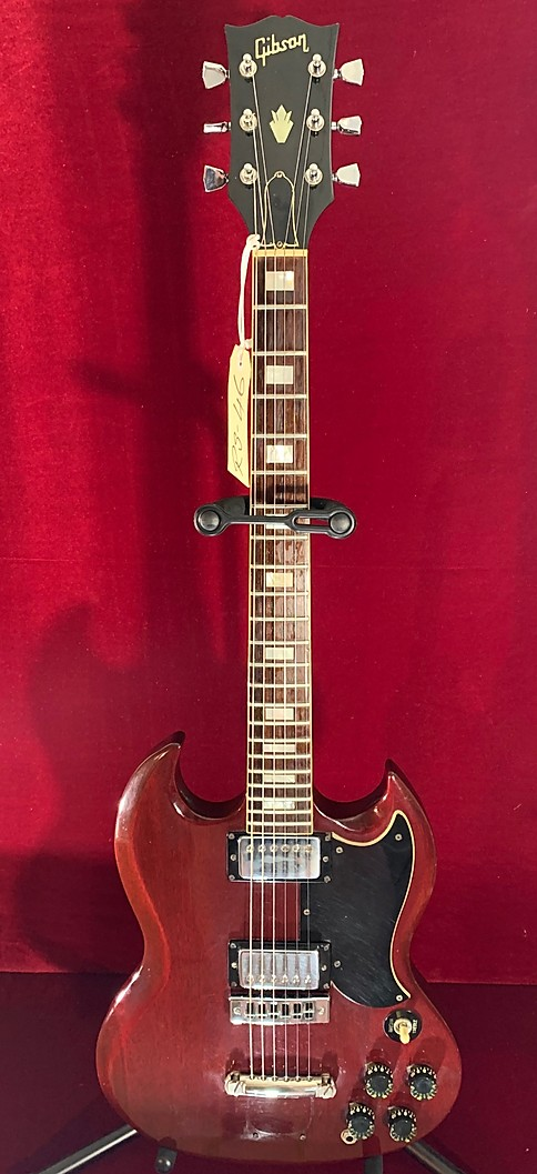 1975 GIBSON SG 1975 CHERRY FINISH Vintage Guitar