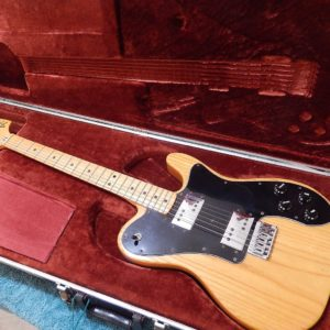 1980 FENDER TELECASTER DELUXE VINTAGE GUITAR IN NATURAL FINISH